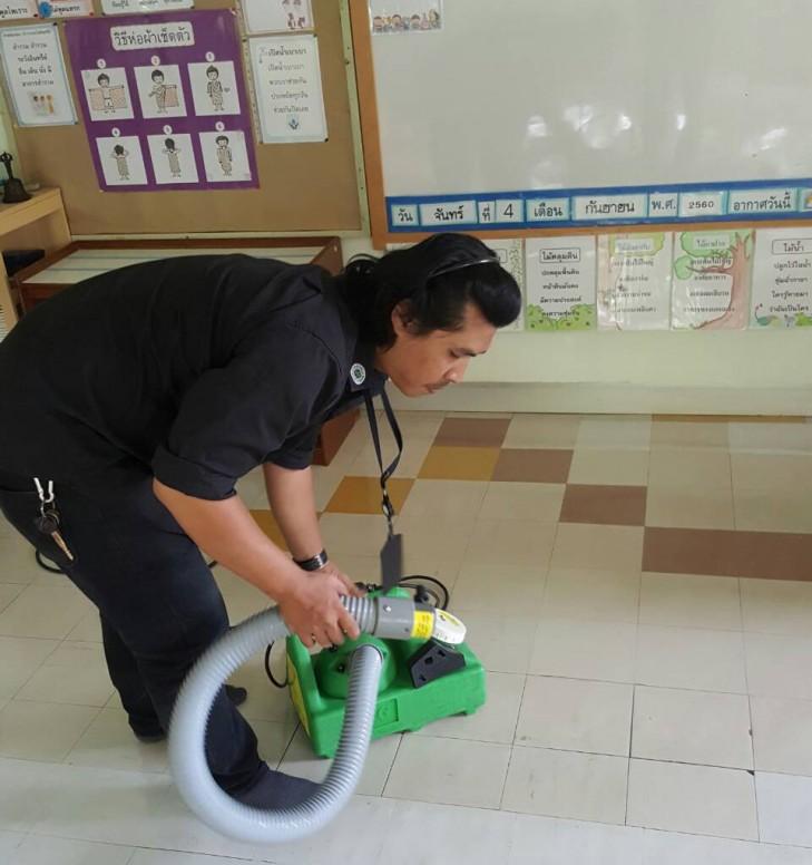 โรงเรียนมีมาตราการทำความสะอาด กรณีเกิดโรคติดต่อ